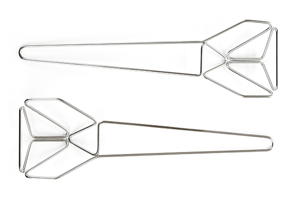 Certamente Salad Servers by Konstantin Grcic for Serafino Zani