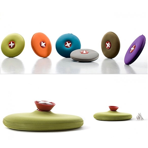 PILL Hot-Water Bottle by Markus Jehs and Jürgen Laub for Authentics