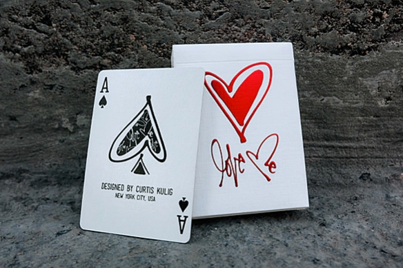 LOVE ME Playing Cards by Curtis Kulig | moddea