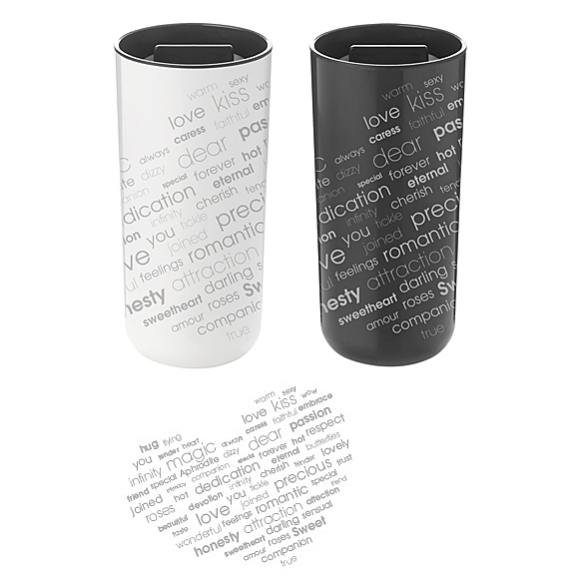 To Go 2.0 Valentine Thermo Cup by Stelton | moddea