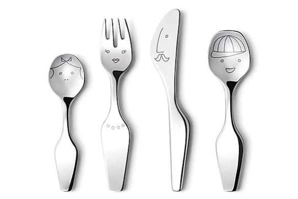 Alfredo Twist Family Cutlery by Alfredo Häberli | moddea
