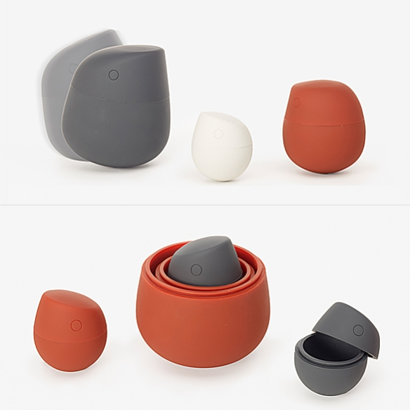 Figurine Containers by Gabriella Gustafson and Mattias Ståhlbom | moddea