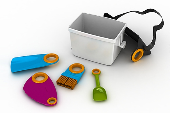 Fiskars Box With Kids' Tools | moddea