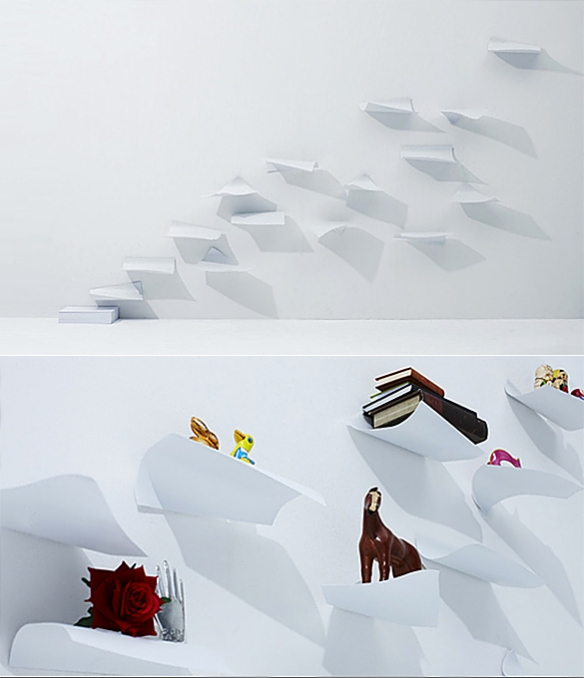 BLOW Wall Shelf by YOY | moddea