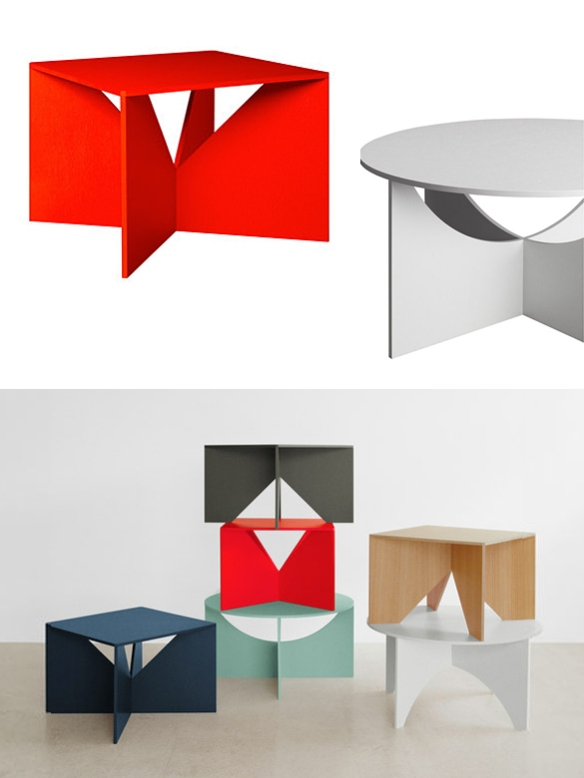 Calvert and Charlotte Tables by Ferdinand Kramer | moddea