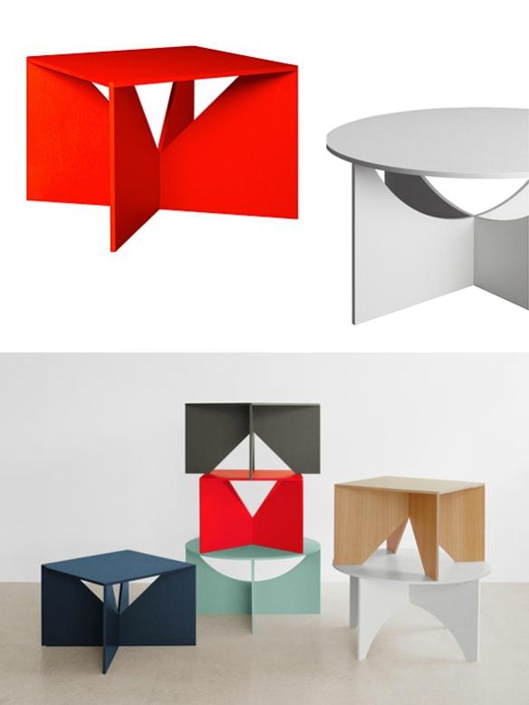 Calvert and Charlotte Tables by Ferdinand Kramer | moddea