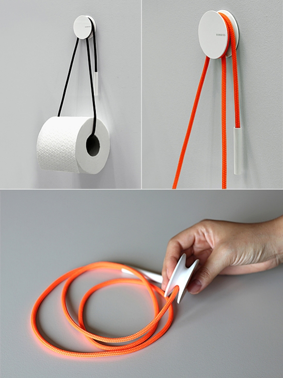 Diablo Toilet Roll Holder by Yang Ripol Design Studio | moddea