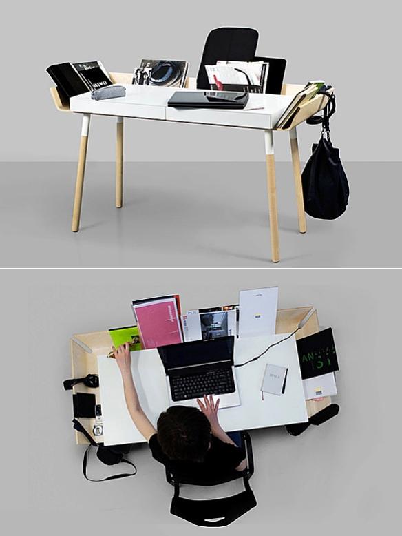 My Writing Desk by Inesa Malafej | moddea