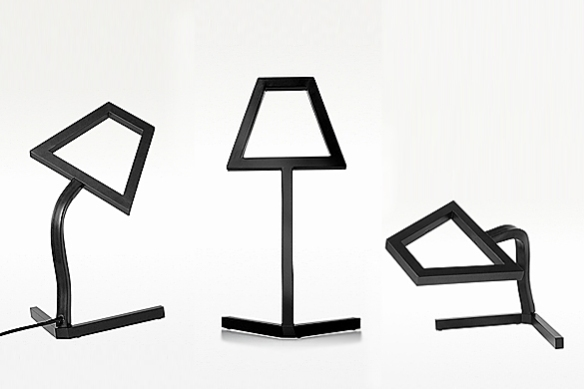 2D LED Table Lamp by DING3000 | moddea