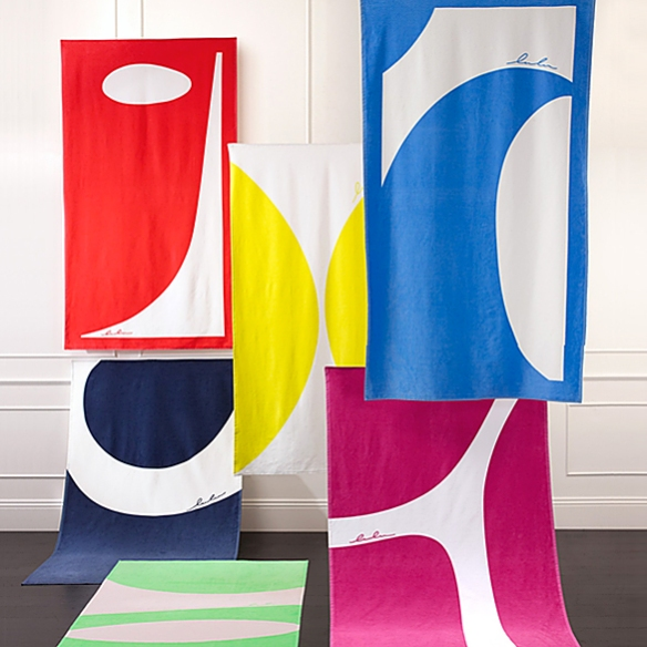 ABSTRACTIONS Beach Towels by Lulu deKwiatkowski | moddea