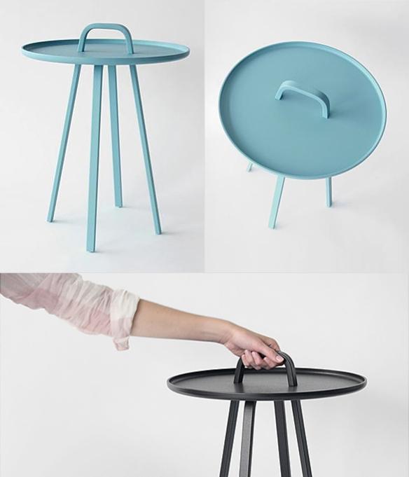 TOR Side Table by Lambie & Van Hengel | moddea