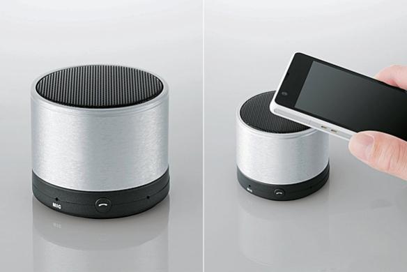 Bluetooth 3.0 Portable Wireless Speaker by Elecom | moddea