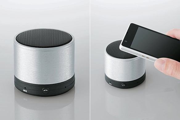 Bluetooth 3.0 Portable Wireless Speaker by Elecom | moddea
