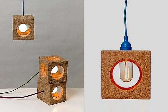 Cork Lamps by Değer Cengiz | moddea