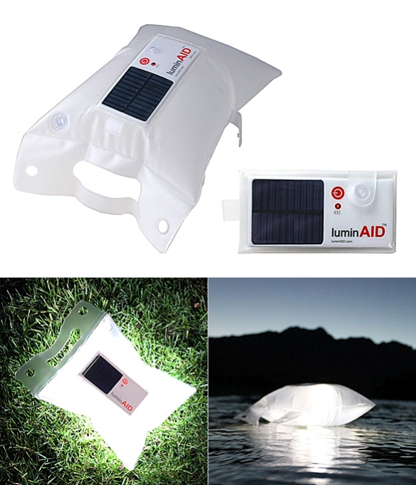 LuminAID Solar Light by Anna Stork and Andrea Sreshta | moddea