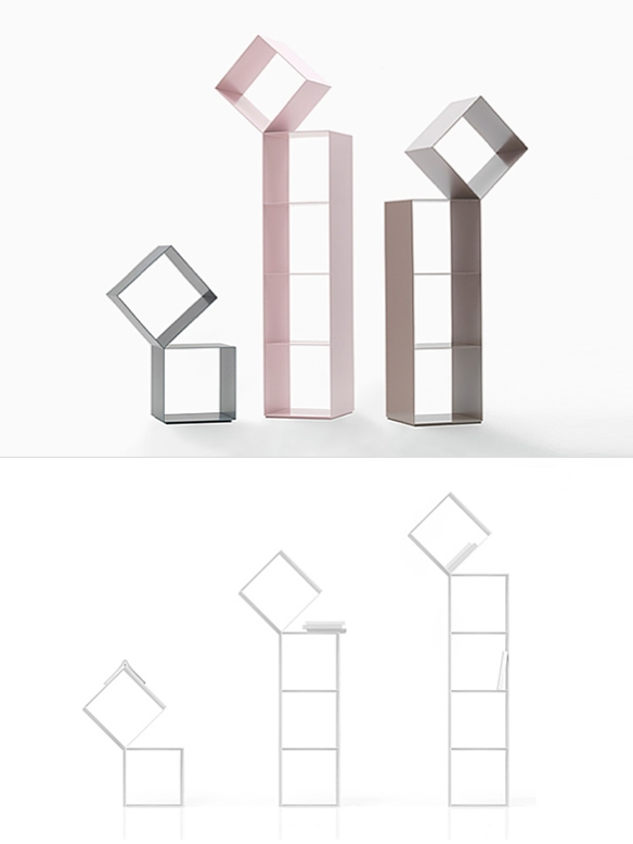 DROP Bookshelf by Nendo | moddea
