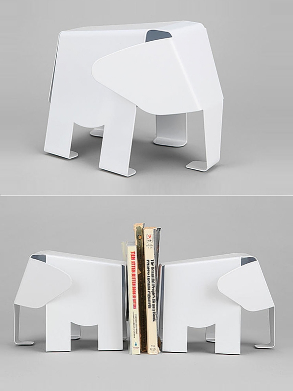 Elephant Bookends | moddea
