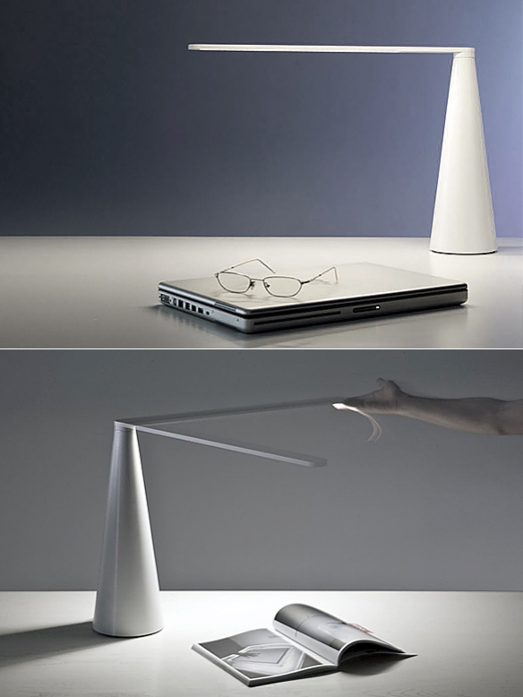 Elica Desk Lamp by Brian Sironi | moddea