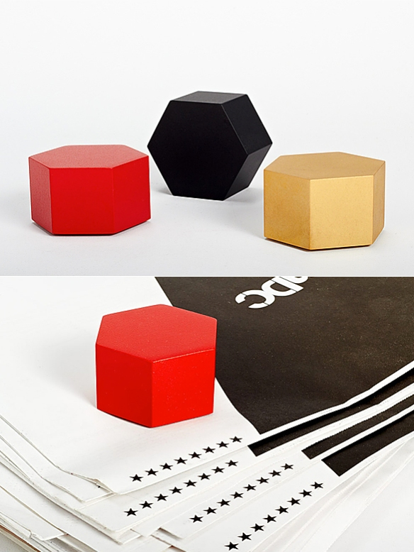 Hex Paperweight by Iacoli & McAllister | moddea