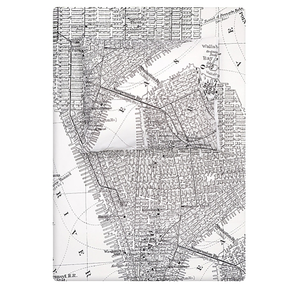 Manhattan Duvet Cover Set by H&M | moddea