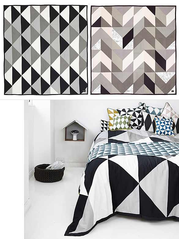 REMIX and ARROW Bed Covers