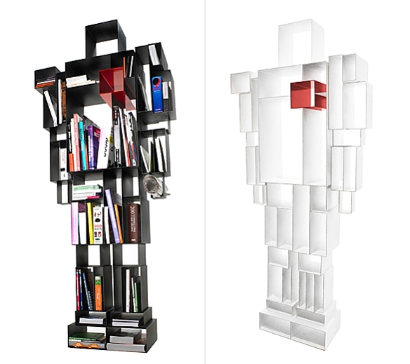 Robox Bookshelf by Fabio Novembre | moddea