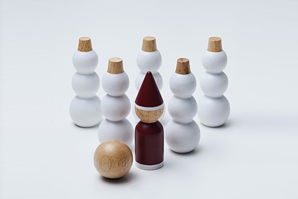 Snowman and Santa in a Bag by MUJI | moddea