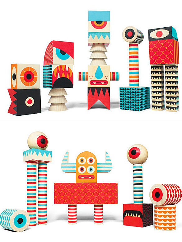Stack And Scare! Monster Blocks
