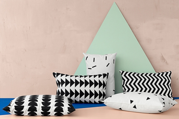 Graphic Cushions by Ferm Living | moddea