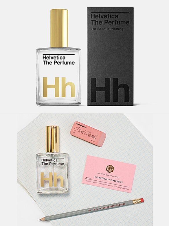 Helvetica The Perfume by Guts and Glory | moddea