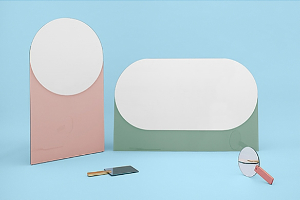 SHAPES Mirrors by Sylvain Willenz | moddea