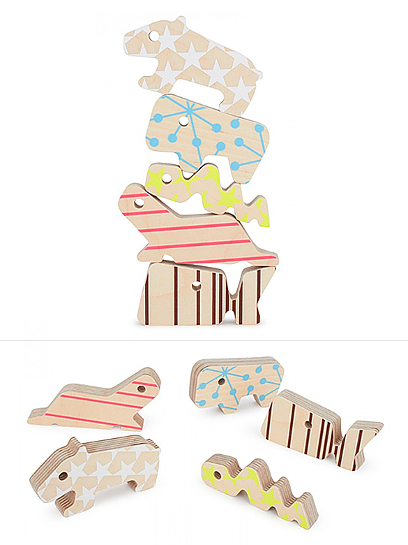 THE 5 BUDDIES Stackable Animals