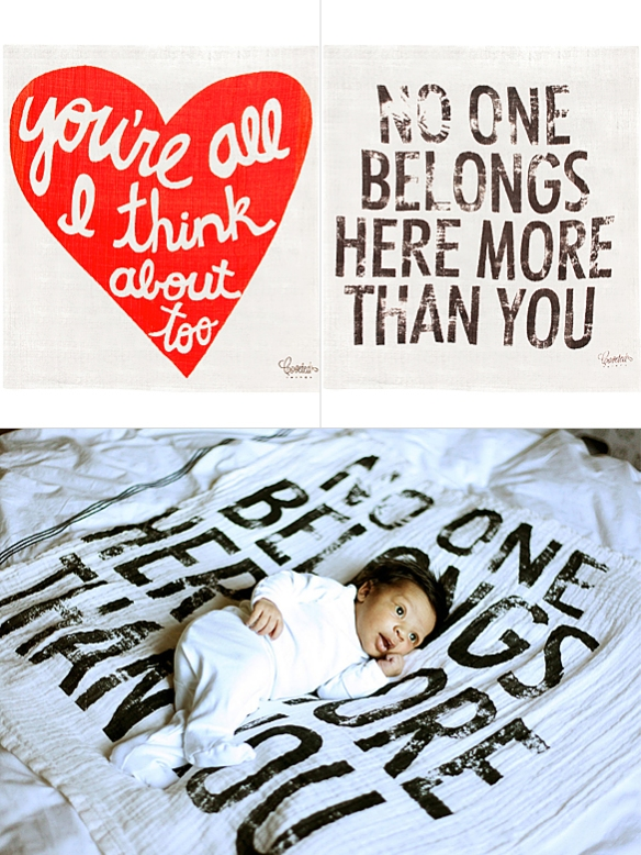 Baby Blankets by Coveted Things | moddea