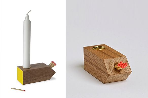 NIGHTLIGHT Candlestick by Simon Donald | moddea