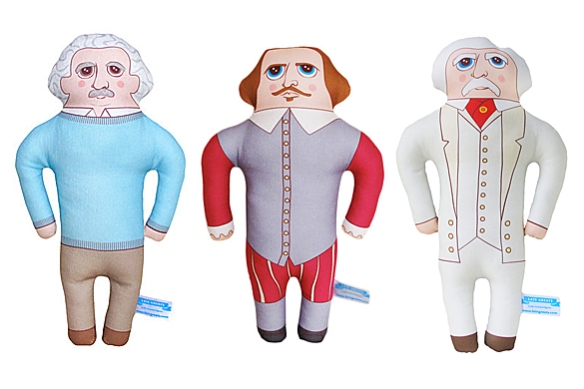 Stuffy Historical Figures by Chen Reichert | moddea