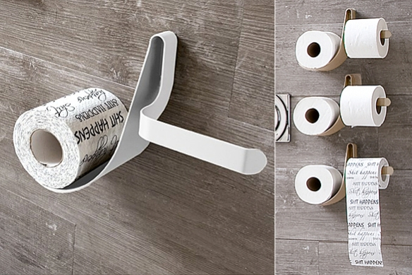 TULIP Toilet Roll Dispenser by Arblu | moddea