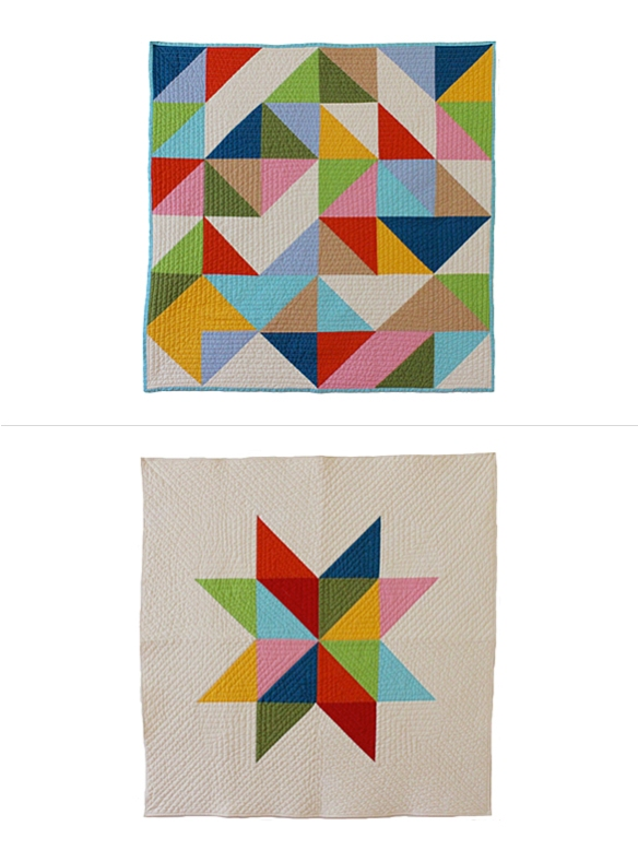 Modern Baby Quilts by Bunch & Rosa | moddea