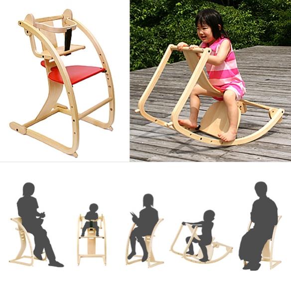 New Bambini High Chair by Toshimitsu Sasaki | moddea