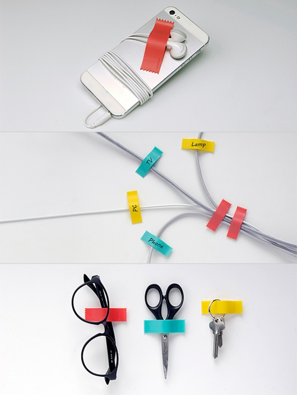 TAPED UP Cable Organizer by Hojin Choi | moddea