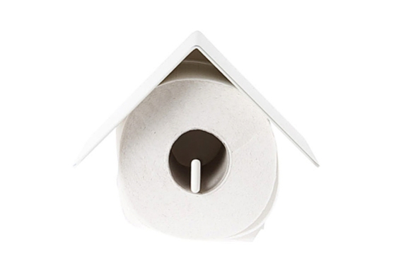 Bird House Toilet Roll Holder by Kranen / Gille | moddea