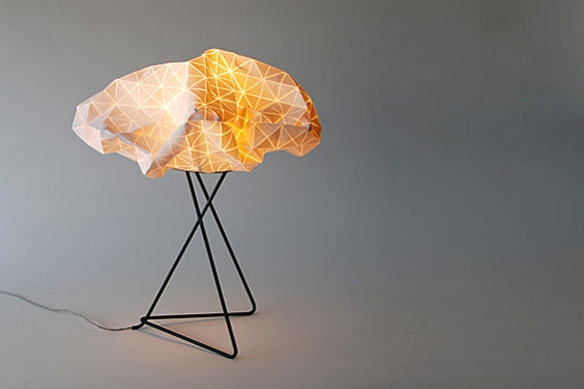 Origami Table Lamp by Mika Barr | moddea