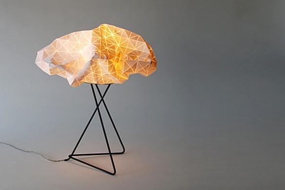Origami Table Lamp by Mika Barr | moddea