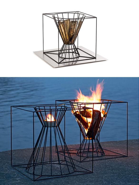 Boo Fire Basket by Martin Kallin | moddea