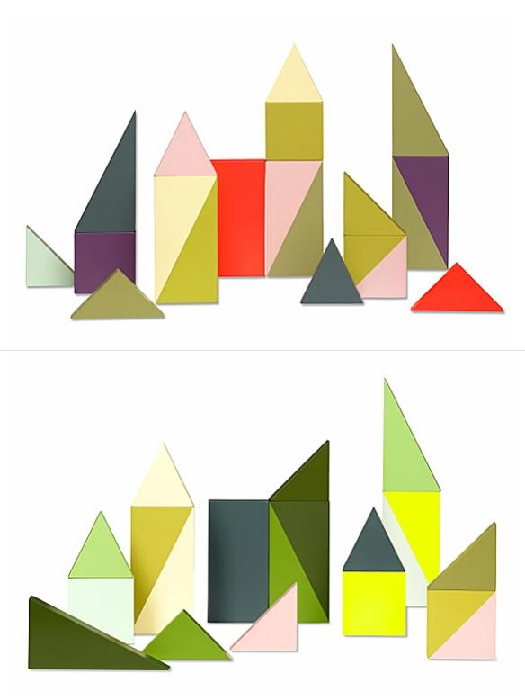 WOODEN WONDERLAND Building Blocks by Lee Storm | moddea