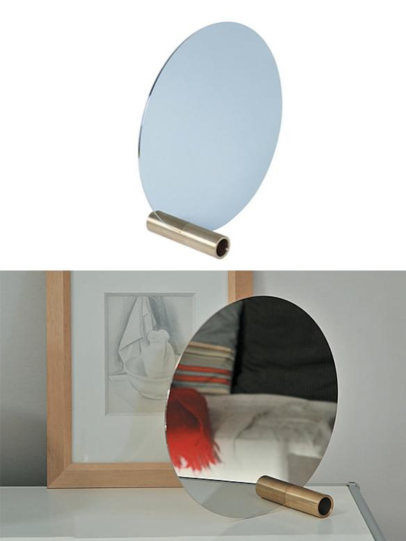 Disc Mirror by Joachim Rasmussen | moddea