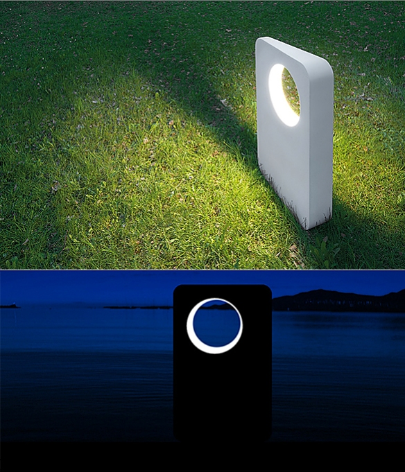 Eraclea Outdoor Floor Lamp by Neil Poulton | moddea