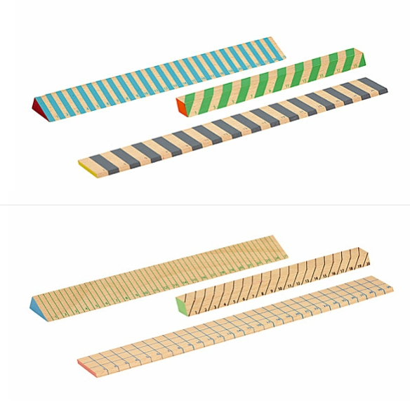 Wooden Rulers by Hay | moddea