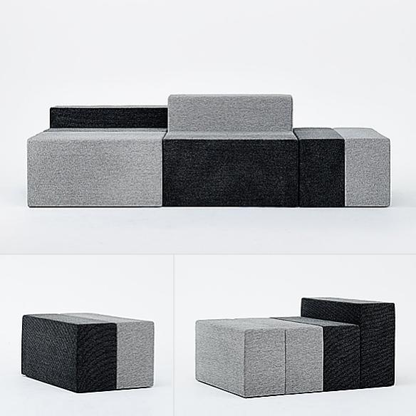 HALFWAY Sofa by Teruhiro Yanagihara | moddea