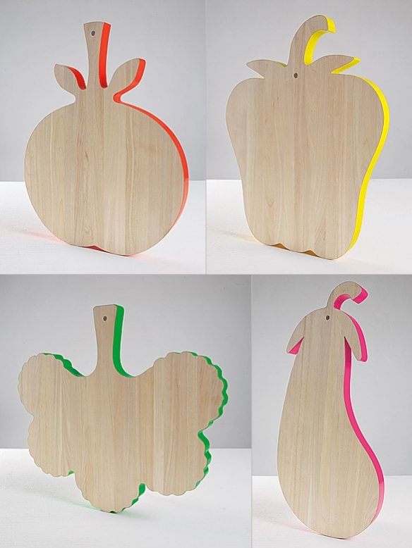 Vege-Table Cutting Boards by Alessandra Baldereschi | moddea