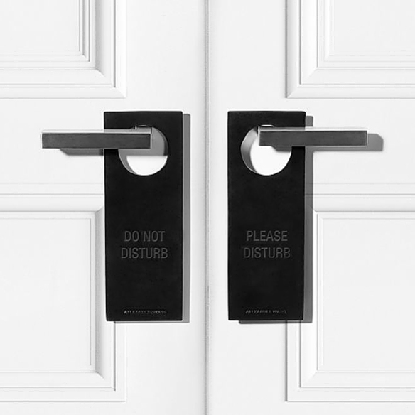 Black Door Sign by Alexander Wang | moddea